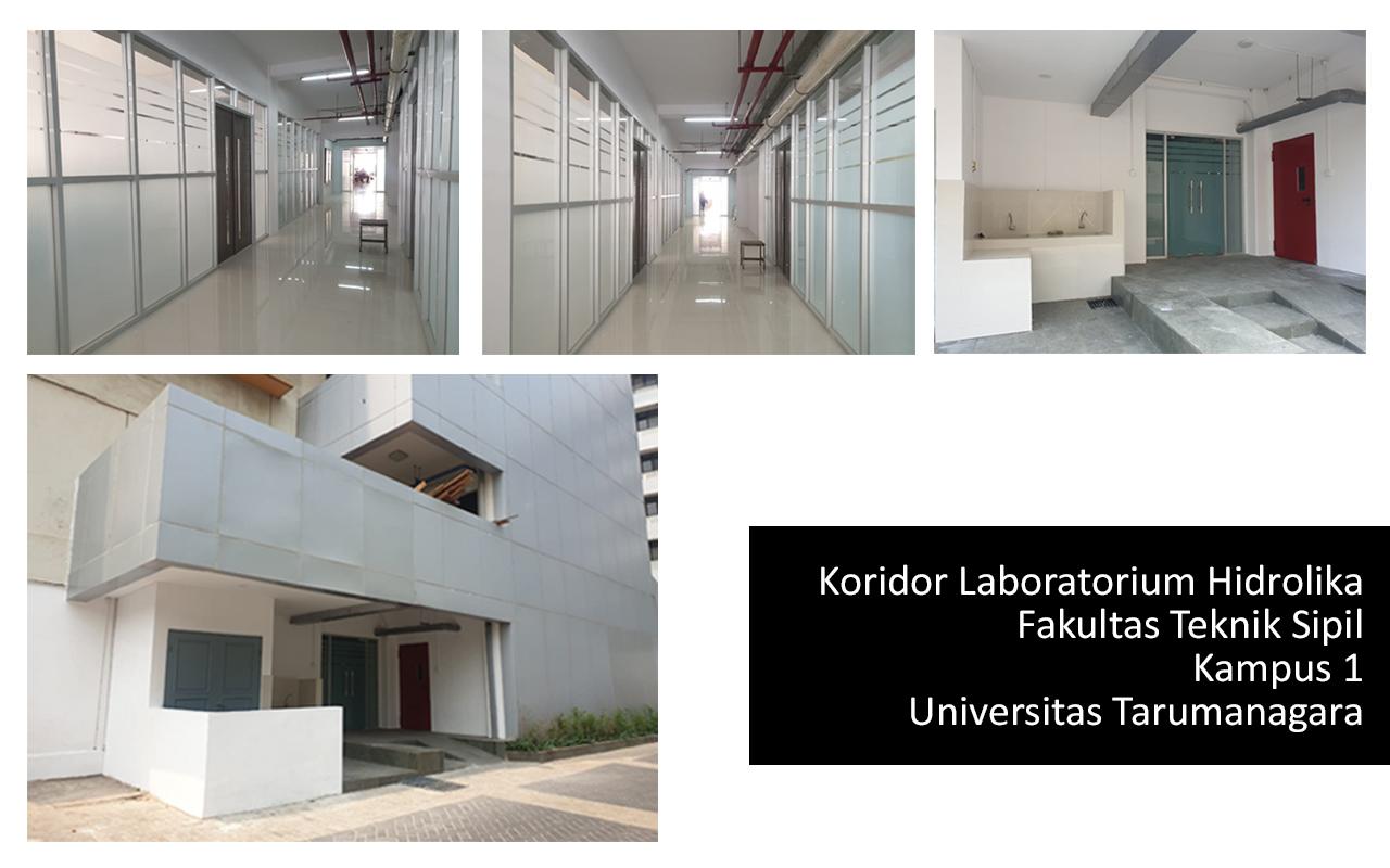 UNTAR - Koridor Laboratorium Hidrolika, Fakultas Teknik Sipil