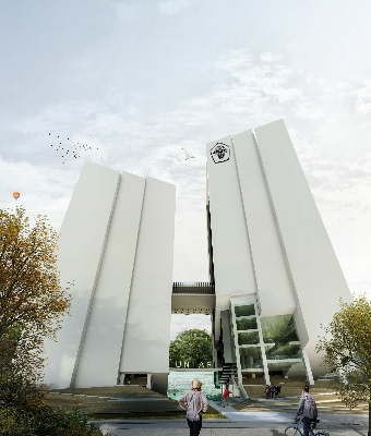 Sayembara Gedung Utama Kampus IV Universita Tarumanagara